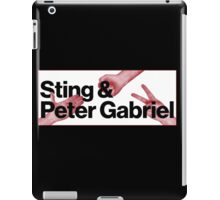Peter Gabriel Sting Rock Paper Scissors 2 iPad Case/Skin