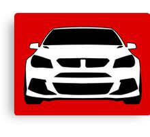 HSV VF GTS Clubsport Front View Design | Tee Shirt / Sticker for Holden Enthusiasts Canvas Print