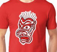 """Bold-School"" Tiki Mask. Unisex T-Shirt"