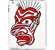 """Bold-School"" Tiki Mask. iPad Case/Skin"