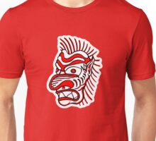 """Bold-School"" Tiki Head. Unisex T-Shirt"
