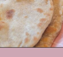 Soft Flatbread Pita with Spelt Flour Sticker