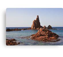 Cabo de gata Canvas Print