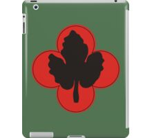 """43rd Infantry Division """"Winged Victory"""" (United States - Historical)  iPad Case/Skin"""
