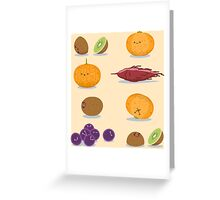 Funny Fruits Fun Pack Greeting Card
