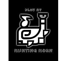 Monster Hunter Hunting Horn Photographic Print