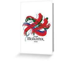 Clan McAlister  Greeting Card