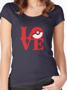 Love Pokemon Women's Fitted Scoop T-Shirt
