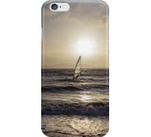 Surfer at Sunset iPhone Case/Skin