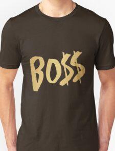 BO$$ - Gold Unisex T-Shirt