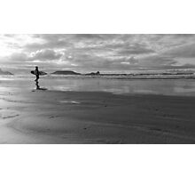 Surfer Dude at Sunset Photographic Print