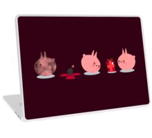 Pink Creature Gets A Bomb As Present Laptop Skin