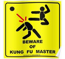 Beware of Kung Fu Master Poster