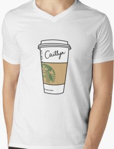 CUSTOMIZED HIPSTER :: CAITLYN Mens V-Neck T-Shirt