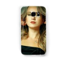 Attractive young woman Samsung Galaxy Case/Skin