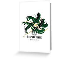 Clan McAlpine Greeting Card