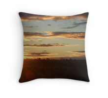 The Land and Sky, Roma, Western Queensland Throw Pillow