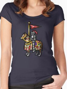 Heroes of Might and Magic Knight Retro Pixel DOS game fan shirt Women's Fitted Scoop T-Shirt