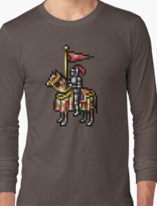 Heroes of Might and Magic Knight Retro Pixel DOS game fan shirt Long Sleeve T-Shirt