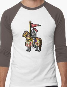 Heroes of Might and Magic Knight Retro Pixel DOS game fan shirt Men's Baseball ¾ T-Shirt