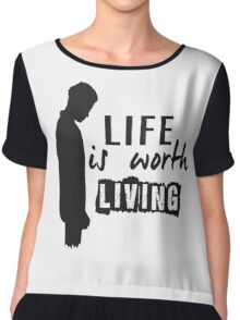 Life Is Worth A Living // Purpose Pack // Chiffon Top