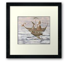 A Mystical Voyage Framed Print