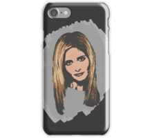 Buffy, The Slayer: Reborn iPhone Case/Skin