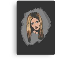 Buffy, The Slayer: Reborn Canvas Print