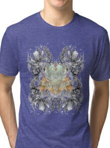 Psychedelic bouquet Tri-blend T-Shirt