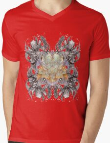 Psychedelic bouquet Mens V-Neck T-Shirt