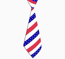 Old Glory (USA) T-Shirt Tie Long Sleeve T-Shirt