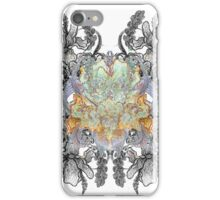 Psychedelic bouquet iPhone Case/Skin