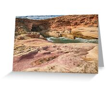 Woolshed Cave Greeting Card