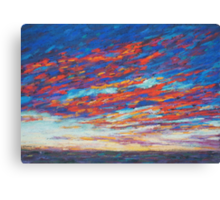Fire Opal Canvas Print