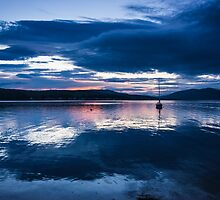 Rothesay Bay After Sunset by Angie Morton