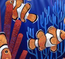 Clown fish tank Sticker