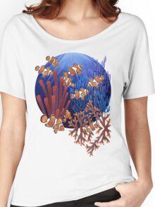 Clown fish tank Women's Relaxed Fit T-Shirt