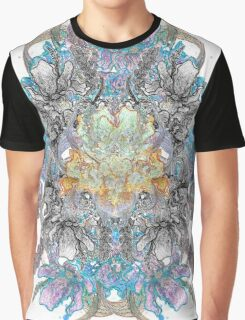 Psychedelic flower bouquet Graphic T-Shirt