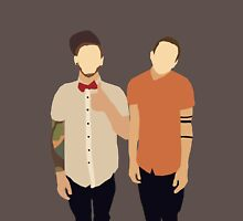 Tyler and Josh Unisex T-Shirt