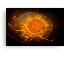 Metal Sun Canvas Print