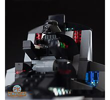 Dart Vader in his throne Photographic Print