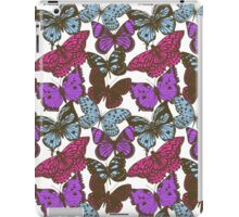 Violet butterflies iPad Case/Skin