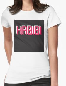 Habibi - My love  Womens Fitted T-Shirt