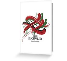 Clan McAulay  Greeting Card