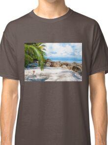 Beautiful tropical beach Classic T-Shirt