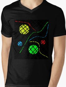 Colorful abstraction Mens V-Neck T-Shirt