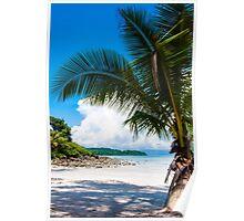 Beautiful tropical beach Poster