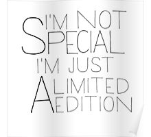 i'm a limited edition Poster