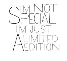 i'm a limited edition Photographic Print