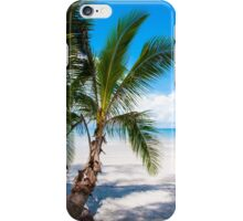 Beautiful tropical beach iPhone Case/Skin